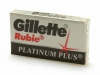 Лезвия для бритья Gillette Rubie Platinum plus