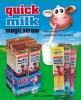 Магическая соломинка для молока со вкусом шоколада Quick milk magic straw