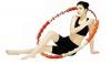 Массажный обруч Health Hoop Jemimah 1.7 кг