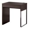 Письменный стол МИККЕ черно-коричневый IKEA