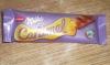 Шоколад Milka Caramel молочный батончик с карамельной начинкой