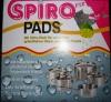 Мочалки от нагара на посуде Spiro Pads