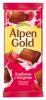 """Молочный шоколад Alpen Gold """"Клубника с йогуртом"""""""