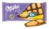 Молочный шоколад «Milka» с соленым крекером «Tuc»