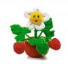 Мягкая игрушка Lava Земляника цветок музыкальная 22 см арт. LA8496s