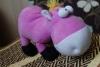 Мягкая игрушка Teddy toys Розовый осел