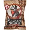 """Мясные чипсы """"Классические из свинины"""" продукт из свинины сыровяленный, Дымов"""