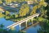 Набережная реки Северский Донец (Украина, Святогорск)