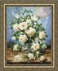 """Набор для вышивания Золотое Руно """"Букет белых роз"""", арт. ЛЦ-043"""