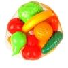 """Набор НордПласт """"Фрукты Овощи"""" 13 предметов в сетке"""