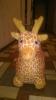 """Надувные животные Олененок """"Наша игрушка"""" съемный плюшевый чехол с насосом, арт 311873"""