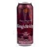 Напиток слабоалкогольный сильногазированный King's Bridge Gin Cherry с вишневым соком