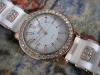 Наручные часы с силиконовым ремешком Geneva Platinum NO:2718 LC