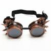 Очки HCC Copper Steampunk Googgles