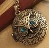 Ожерелье женское Fashion Jewelry Charming New Lovely Style Retro Night Owl Pendant Necklace
