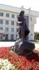 Памятник Салавату Юлаеву у дома Госсобрания Республики Башкортостан (Россия, Уфа)