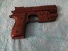 Пистолет пневматический игрушечный с лазерным прицелом и светом SP-1 Zhejiang Tongde