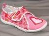 Туфли текстильные Котофей для девочки, модель 23233