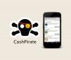 Приложение CashPirate для Android
