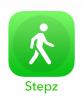 Приложение Stepz для iPhone