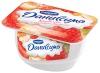 """Продукт творожный Danone """"Даниссимо"""" с клубникой и кусочками бисквита"""