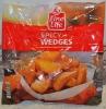 Пряные картофельные дольки замороженные Spicy Wedges Fine Life