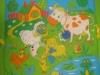 """Развивающий коврик с дугами """"Лужайка"""" (с рыбкой) от Мякиши"""
