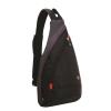 "Рюкзак на одно плечо ""Wenger Mono Sling"" арт. 1092230, чёрный/серый"