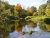 Рыбалка на реке Сходня (Россия, Московская область)