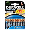 Щелочные батарейки Duracell Turbo Max AAA