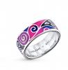 Серебряное кольцо с эмалью Sunlight Brilliant арт. 21293