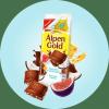 """Шоколад молочный Alpen Gold """"Кокос, инжир и соленый крекер"""""""