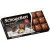 """Шоколад молочный Schogetten """"Black & White"""" с начинкой """"ванильный крем"""" с кусочками печенья с какао"""