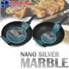 """Сковорода с мраморным антипригарным покрытием Kitchen-Art """"Nano Silver Marble"""""""