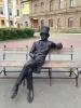 """Скульптура """"А.С. Пушкин"""" (Россия, Челябинск)"""