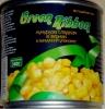 Кукуруза сладкая в зернах Green Ribbon в вакуумной упаковке