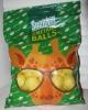 Снеки фигурные изделия соленые со вкусом сметаны с зеленью Snekkin Smetana Balls