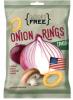 """Снеки картофельные Mini Free """"Луковые кольца"""" со вкусом грибов"""