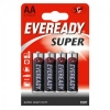Солевые батарейки Eveready Super Heavy Duty AA