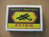 Спички Avion Safety Matches