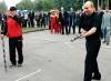 """Спортивная игра """"Городки"""""""