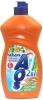 Средство-бальзам для мытья посуды AOS 2 в 1 ромашка и витамин Е