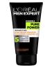 """Средство для умывания """"Ежедневное очищение 5 в 1"""" L'Oreal Men Expert Pure Power Черный Уголь"""