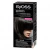 Стойкая крем-краска для волос Syoss Professional Performance 1-1 черный