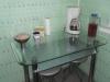 """Стол обеденный """"Мебель из стекла"""" А-604 матовый перламутр"""