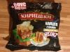 """Сухарики ржаные """"Кириешки"""" Холодец с хреном + горчичный соус Heinz"""