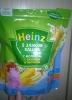 Сухая быстрорастворимая каша Heinz 5 злаков с молоком, бананом и яблоком