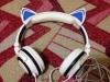 Светящиеся наушники SoundBeast Cat Ear Headphones