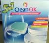 Таблетки для посудомоечных машин CleanOK 5 в 1
