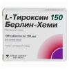 Гормональный препарат АГ L-Тироксин 150